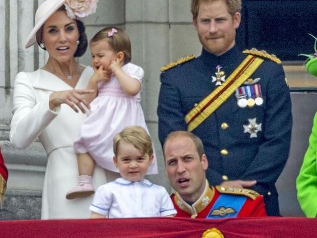 Warum Prinz George niemals mit Harry alleine fotografiert wird