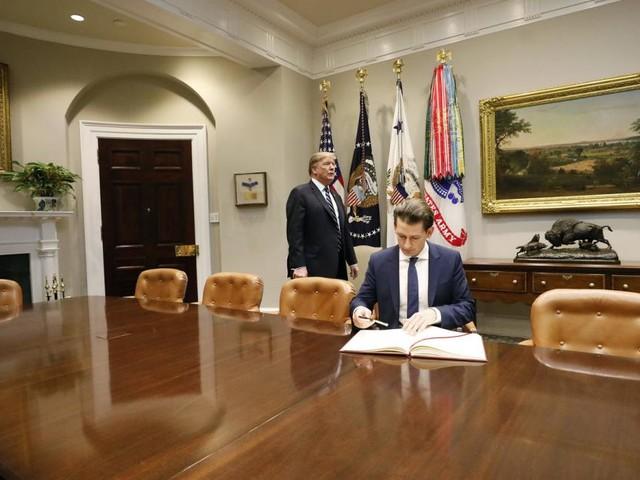 Kurz in den USA: Nahost-Krise in kleiner Runde zum Schluss