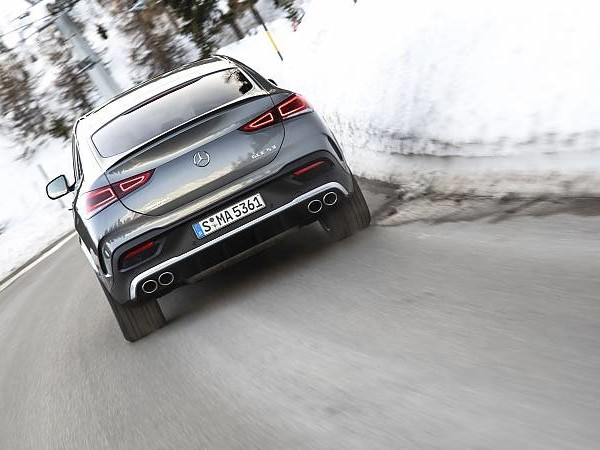 Mercedes-AMG GLE 53 4Matic+ Coupé: Dynamo