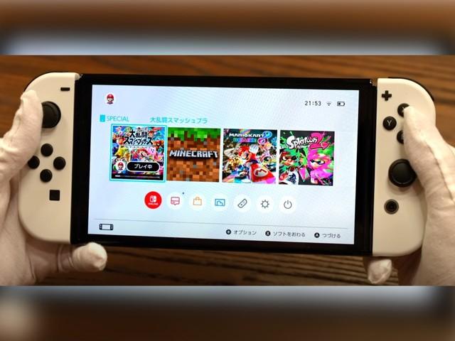 Nintendo Switch OLED: Das erste Unboxing und Gameplay ist online