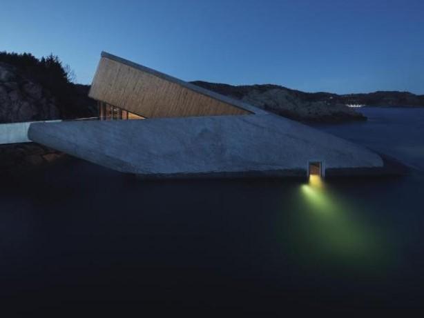 Touristenattraktion: Norwegen: Erstes Unterwasser-Restaurant im Meer in Europa