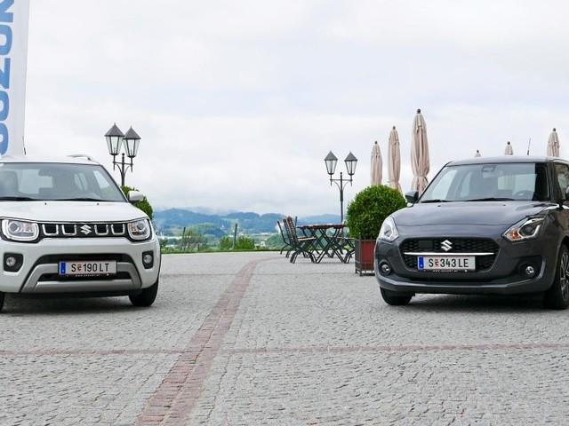 Suzuki Elektro-Palette: Was macht die Zeit, wenn sie nicht läuft?
