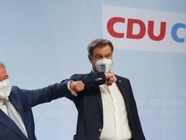 Söder sichert Laschet volle Unterstützung im Wahlkampf zu