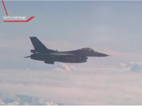 NATO-Jet bedrängt Maschine des russischen Verteidigungsministers