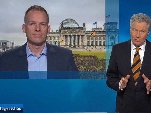 """Berlin-Korrespondent Oliver Köhr: """"Jo, bis dann"""": Panne bei der """"Tagesschau"""" bringt Zuschauer zum Schmunzeln"""