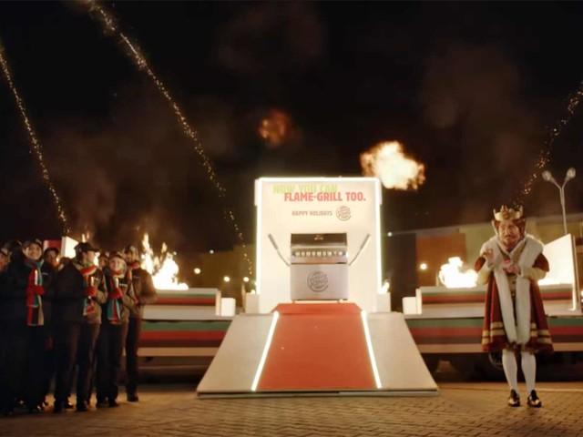 Burger King schenkt der Konkurrenz einen vernünftigen Grill zum Fest