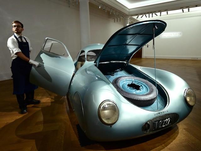 70 Millionen? 17 Millionen!: Sotheby's blamiert sich bei Porsche-Auktion