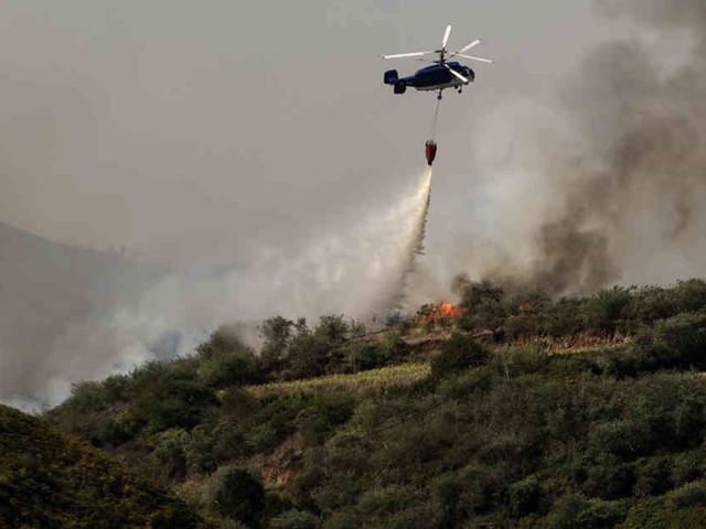 Feuergefahr eingedämmt: Menschen auf Gran Canaria kehren nach Waldbrand zurück nach Hause