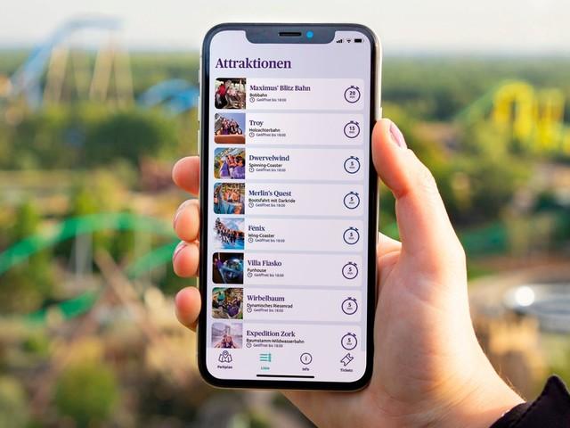 Freizeitpark Toverland veröffentlicht eigene App mit Parkplan, Wartezeiten und Ticketverkauf