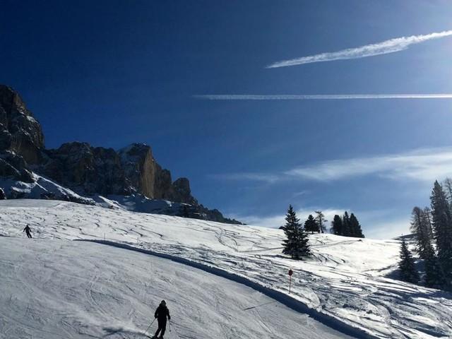 Skifahren und Staunen in Carezza