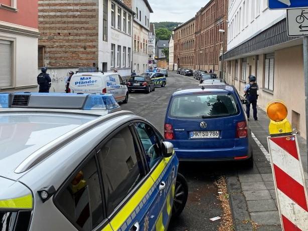 Polizei: Schüsse und Polizeieinsatz in der Iserlohner Bleichstraße