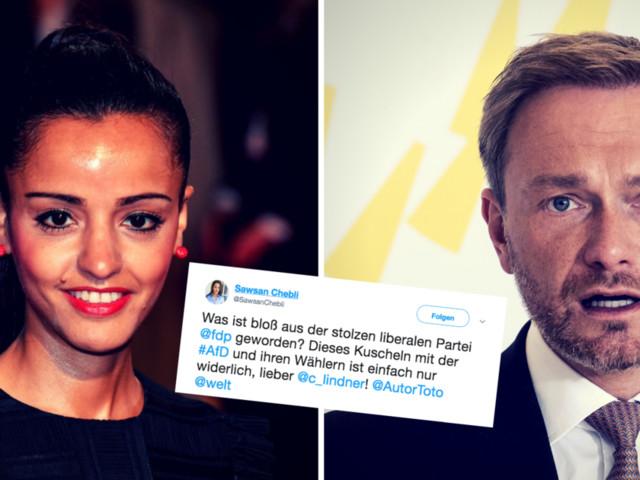 """Chebli wirft Lindner """"Kuscheln mit der AfD"""" vor – der antwortet entschieden"""