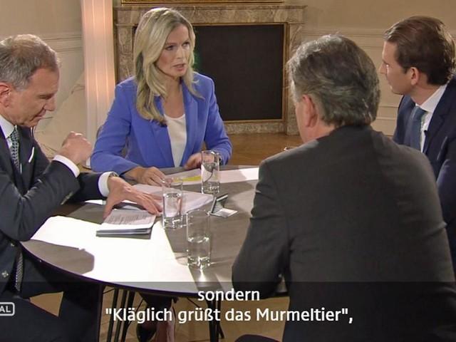 """Kurz und Kogler im ORF: """"Kläglich grüßt das Murmeltier"""""""