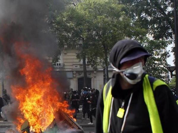 Wieder Randale in Paris?: Spannung vor Jahrestag der «Gelbwesten»-Proteste