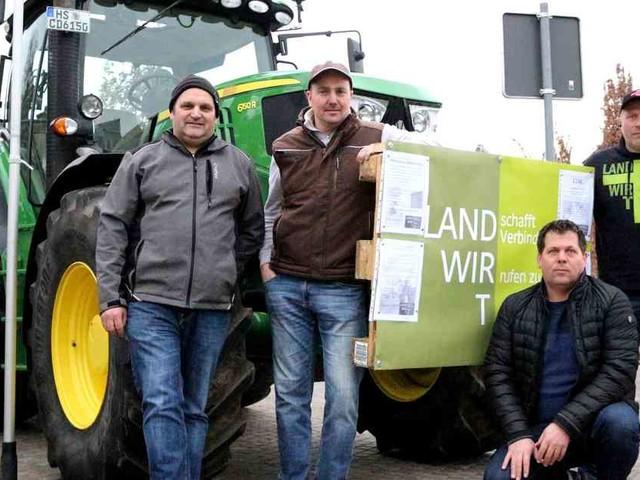 Bauernproteste: Geilenkirchener Landwirte wollen kein Bauernopfer sein