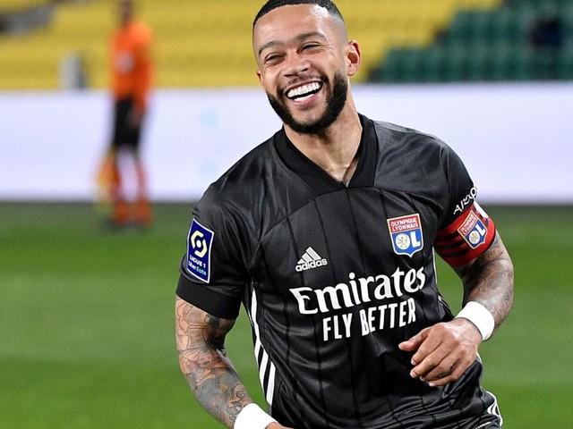 Niederlande-Star Depay wechselt von Lyon zum FC Barcelona