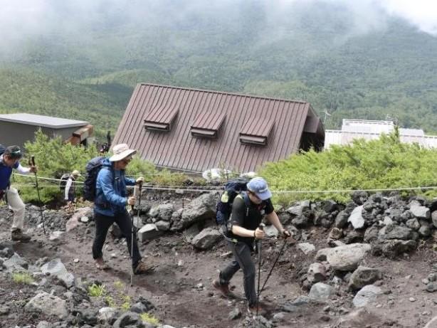 Japans heiliger Berg: Klettersaison auf dem Fuji hat begonnen