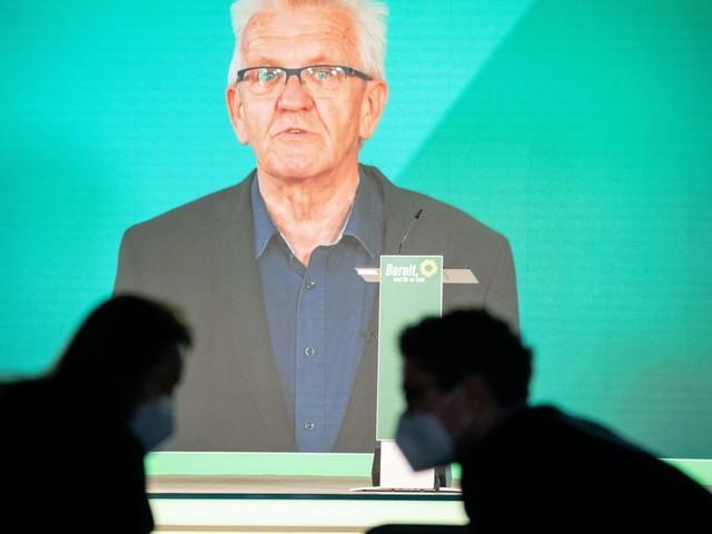 Grünen-Parteitag: Kretschmann findet Angriffe auf Baerbock »schäbig«