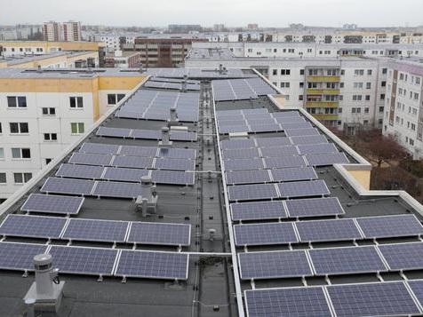 Vorstoß für mehr Solarstromanlagen in Berlin