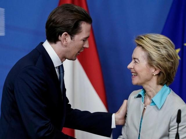 """""""Modell für Europa"""": Lob für Kurz bei Antrittsbesuch in Brüssel"""