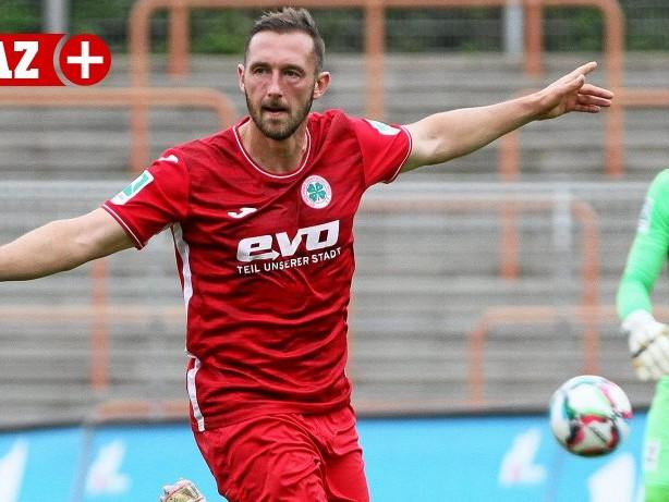 """Fußball: RWO-Stürmer Kreyer: """"Der Sieg unterstreicht unsere Form"""""""