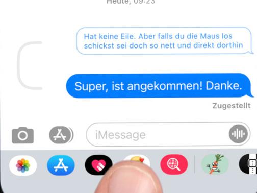iMessage Threads in iOS 14: Direkt auf alte Nachrichten antworten