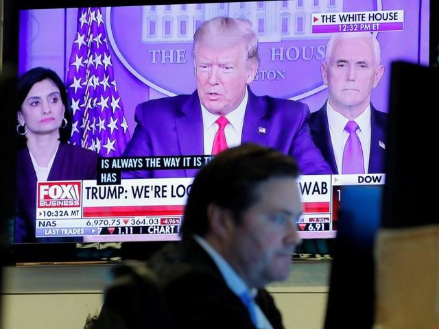 Trump mit Corona: Anleger bringen Geld in Sicherheit