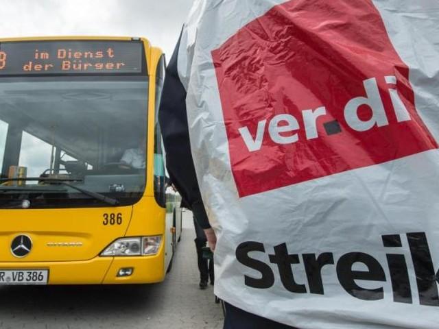 Verdi kündigt weitere Warnstreiks im Nahverkehr an