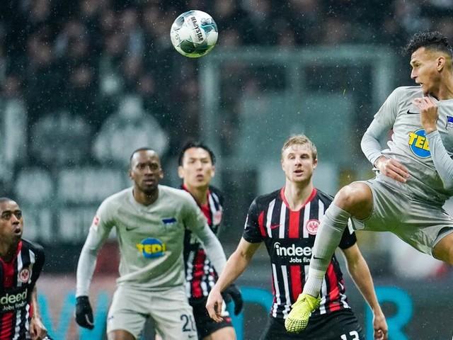 Klinsmanns Hertha gibt Sieg noch her - Nach 2:0 nur 2:2 in Frankfurt