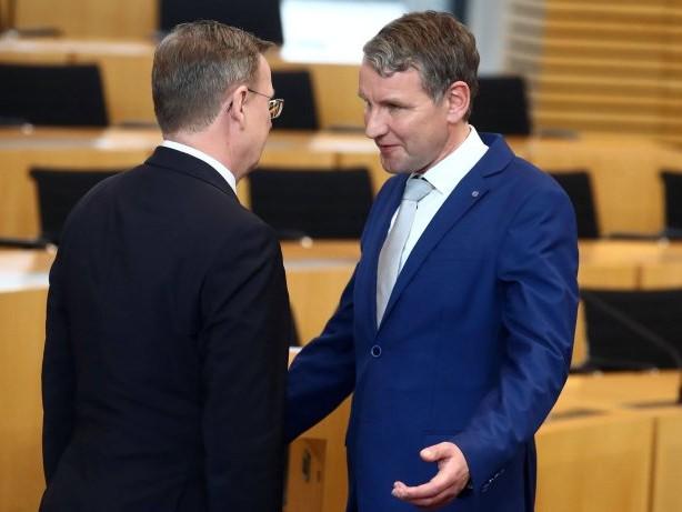 Landespolitik: Thüringer AfD beantragt Misstrauensvotum gegen Ramelow