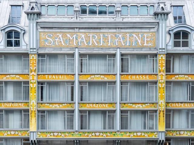 In Bildern: La Samaritaine feiert Wiedereröffnung nach 16 Jahren