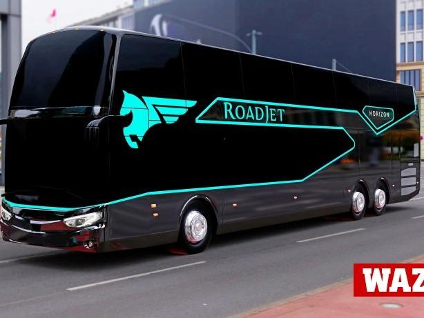 Reisen: Fernbusanbieter Roadjet verspricht Reisen im Massagesitz