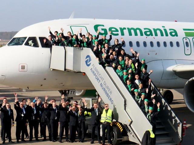 Airline sucht Investoren: Rund 30 Interessenten für insolvente Germania