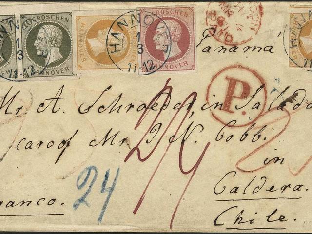 160Jahre alter Brief aus Hannover für 145.000 Euro versteigert