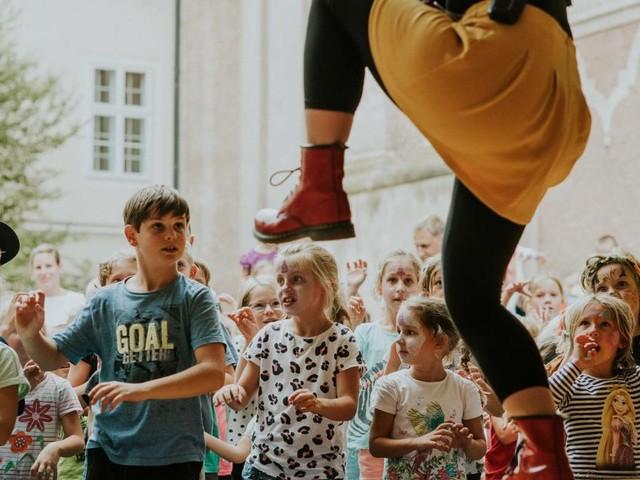 Unter 12-Jährige bleiben bei Kinderfestival unkontrolliert