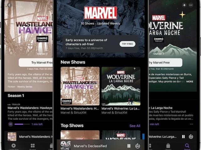 "Apple Podcasts: ""Marvel Podcasts Unlimited"" ist gestartet"