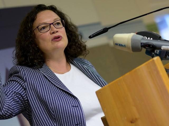 Frühere SPD-Vorsitzende Andrea Nahles legt Bundestagsmandat nieder