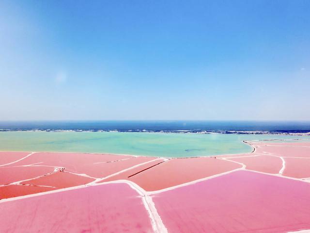 Auf Yucatán in Mexiko: Las Coloradas – der wohl schönste See der Welt