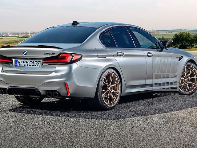 BMW M5 CS F90 (2021): Vorschau, Illustration, Motor, PS, Carbon Mehr Leistung, weniger Gewicht - so heftig soll der Top-5er werden!