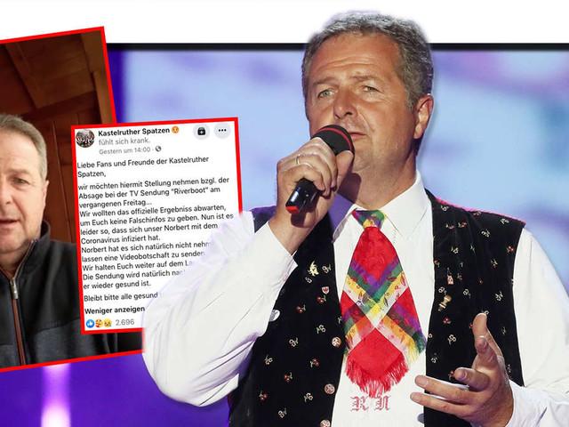 Schlager: Kastelruther Spatzen Frontmann nicht im MDR - Norbert Rier an Corona erkrankt