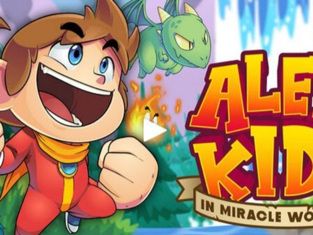 Test: Alex Kidd in Miracle World DX
