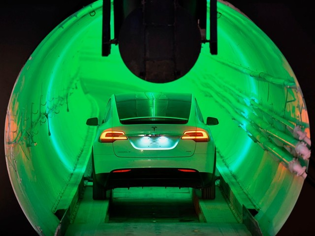 Warum Elon Musk mit seinen Tunnel-Taxis selbst Fans enttäuscht