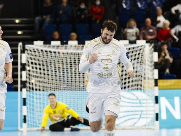 Champions League: Kieler Handballer mit 29:26-Sieg in Nordmazedonien
