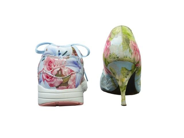 Das erotische Wippen der Schnäbel: Schuh-Design im Ledermuseum Offenbach
