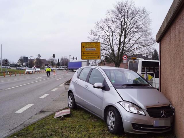 Kreuzung in Neckargröningen: Zwei Unfälle binnen weniger Stunden