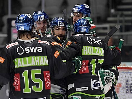 Eishockey: Panther folgen München und Adlern ins CL-Achtelfinale
