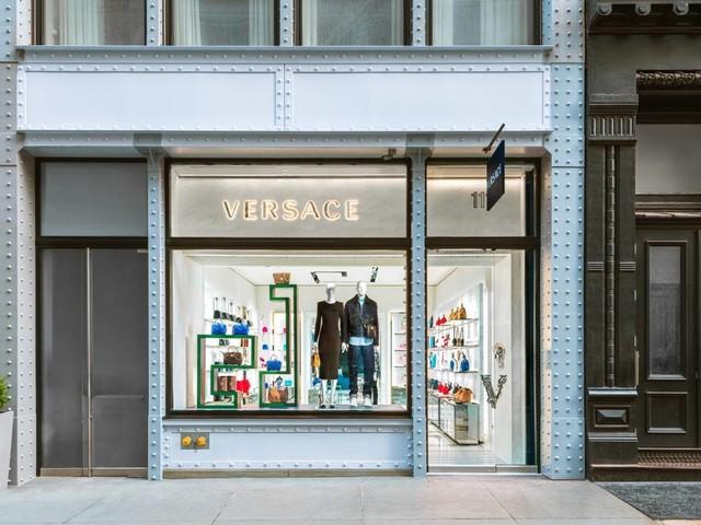 In Bildern: Versace eröffnet neuen Store in New York