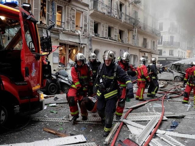 Heftige Explosion im Zentrum von Paris
