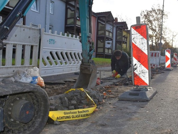 Gigabit-City stockt: Ausbau des Breitband-Netzes in Bochum tritt auf der Stelle