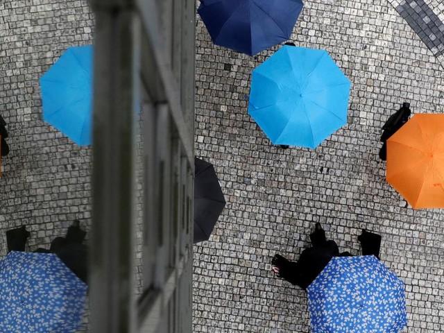 Weltflüchtlingstag: Umbrella March vom Ballhausplatz zum Yppenplatz